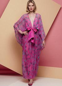 Special Occasion Dress and Sash, Zandra Rhodes. Vogue 1627.