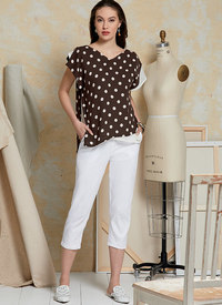 Top and Pants, Today´s Fit by Sandra Betzina. Vogue 1630.