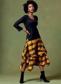 Skirt, Today´s Fit by Sandra Betzina. Vogue 1639.