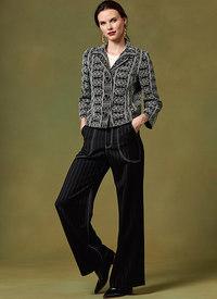 Jacket and Pants, Kathryn Brenne. Vogue 1644.