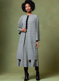 Coat and Skirt, Rachel Comey. Vogue 1646.