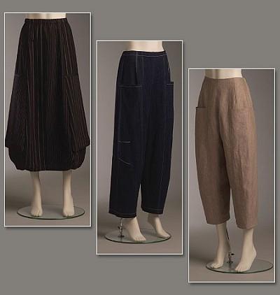 Skirt And Bukser