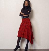 Nederdel. Vogue 8956.