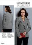 Vogue 9342. Jakke, Claire Shaeffer.