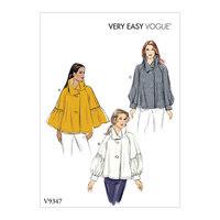 Top. Vogue 9347.