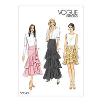 Nederdel. Vogue 9349.