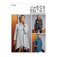 Frakke, Marcy Tilton. Vogue 9352.