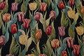 Polyester og bomuld. Tulipanhoveder ca. 7 cm.