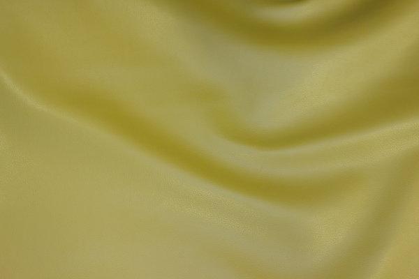 Imiteret glat skind i lys oliven