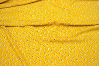 Let, gul viscose med 15 mm fugle
