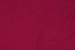 Pink bomuldsjersey med lyserøde miniprikker
