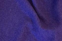 100 % uldbouclé i meleret lilla