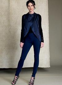 Vogue mønster: Sømmet, tulipan-søn, vest og bukser - Marcy Tilton
