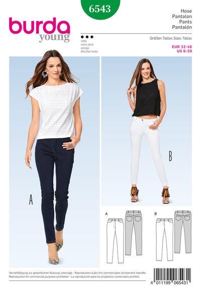 Skinny bukser, jeans