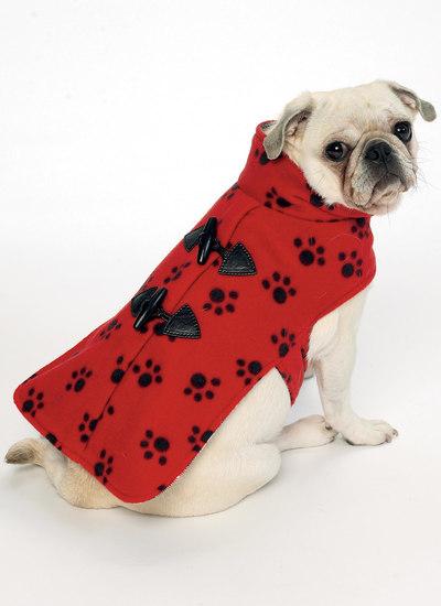 Hundefrakker med krave eller hætte