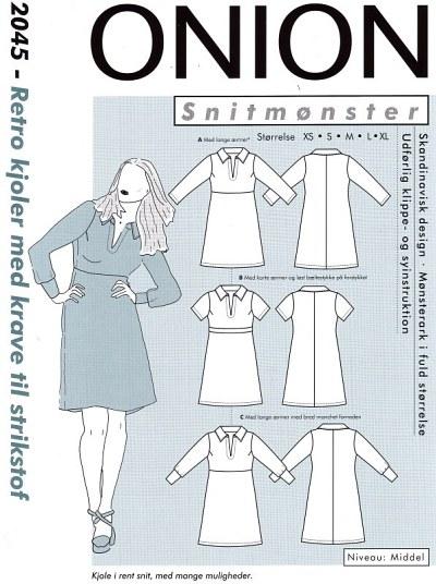 Retro kjoler med krave