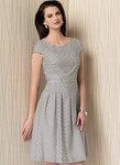 Plisseret-nederdel kjole - Anne Klein