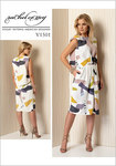 Plisseret kjole med samling foran - Rachel Comey