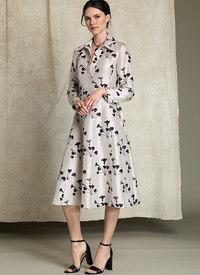 Skjortekjole med lange ærme - Rachel Comey. Vogue 1511.