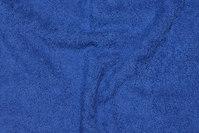 Dobbeltvævet, coboltblå frotté