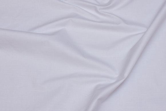 Hvid lærred i bomuld og polyester