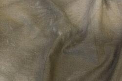 Mellemsvær bomuld i khaki-batikfarvet