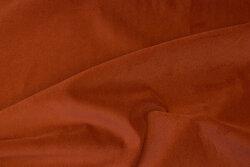 Møbelvelour i rustfarvet