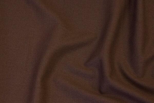 Mørkbrun viscose og hør