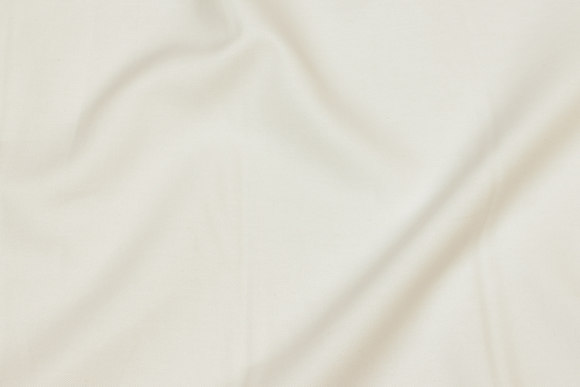 Off white, krympet Oxford-lærred