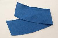 Polo krave blå 7x38cm