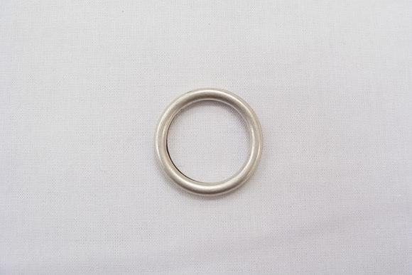 Ring gl sølv Ø 2 el 3cm