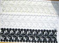 Spachtelblonder i hvid og creme