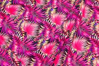Sports-lycra med pink og coral blade