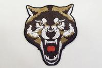 Stor ulv strygemærke 10x11cm