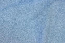 Voksdug i lyseblå denim-look