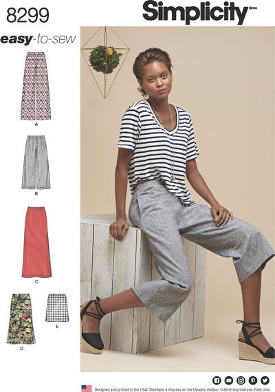 Skirts or Pants in Various Lengths