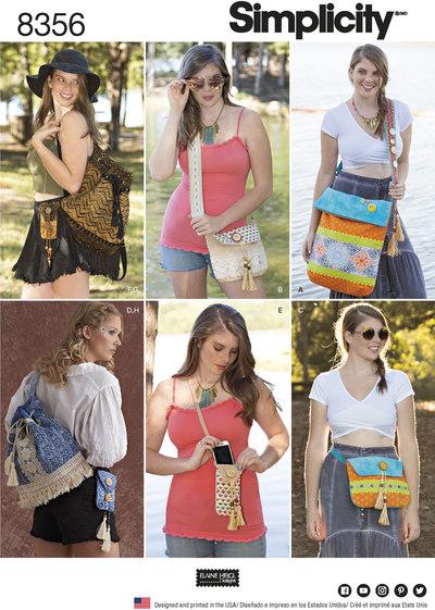 Festival tasker i 4 Størrelser
