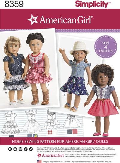 Pige dukketøj