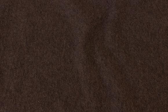 Brun filtet uld