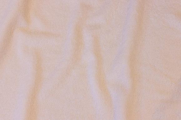 Hvid dobbelvævet frotté
