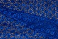 Let, coboltblå polyesterblonde uden stræk