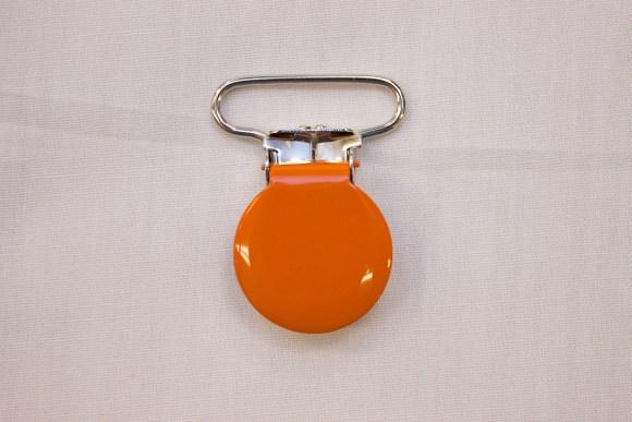 Orange seleclips f.eks til suttekæder