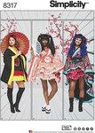 Simplicity 8317. Cosplay Kimono Kostumer.