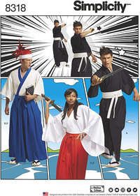 Kimono Kostumer. Simplicity 8318.