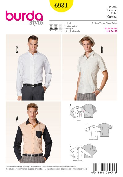 Skjorte til mænd