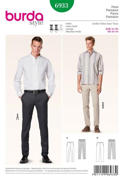 Bukser til mænd, slankt design