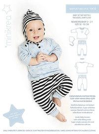 Babysæt med hue. Minikrea 11410.