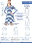 Raglan jersey kjole