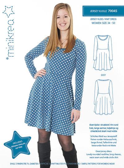 Jersey kjole