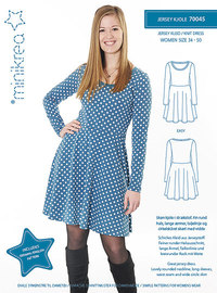 Jersey kjole. Minikrea 70045.